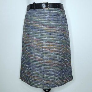 Tahari ASL Belted Pencil Skirt Size 4 Straight